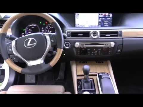 2014 Lexus GS450h Hybrid 4DR Sedan Detailed Walkaround