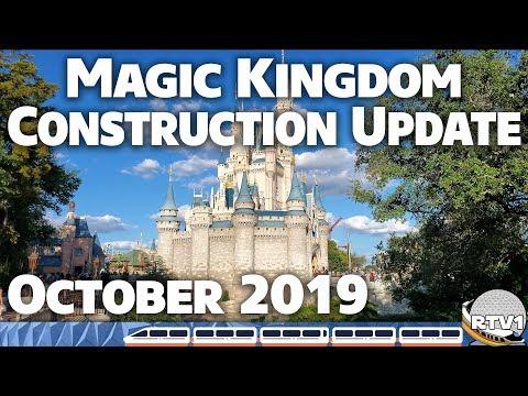 Magic Kingdom Construction Update - October 2019 - Walt Disney World