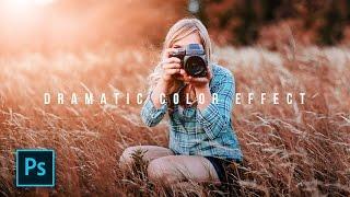Cara Edit Foto Dramatic Color Effect Photoshop - Photoshop Tutorial Indonesia