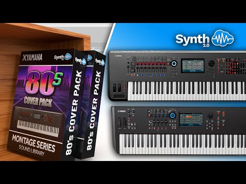 80s COVER PACK SOUND BANK | MODX/MONTAGE YAMAHA