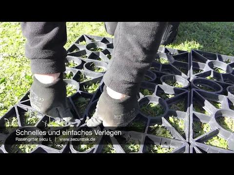Rasengitter secu L (Rasengitter aus Kunststoff zur Direktverlegung ohne Unterbau)