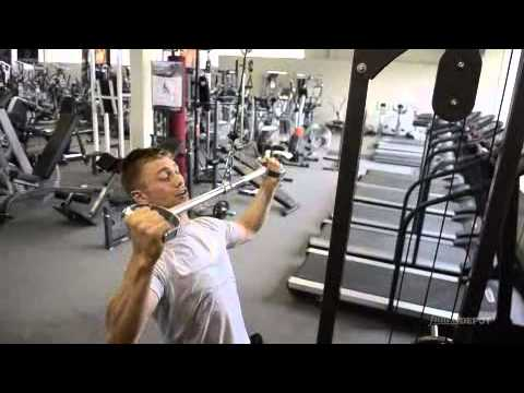 Cable Pulldown (pro lat bar)