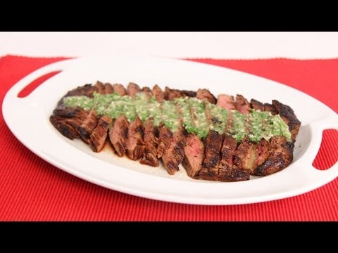 Grilled Flank Steak with Chimichurri Recipe – Laura Vitale – Laura in the Kitchen Episode 625