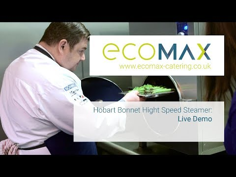 Hobart Bonnet Hight Speed Steamer: Live Demo