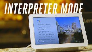 Google Assistant's interpreter mode translates 27 languages