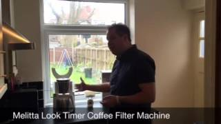 Melitta look timer filter coffee machine review for AO.com