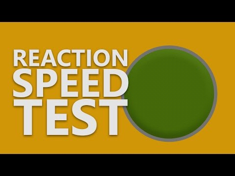 Test Your Reaction Speed