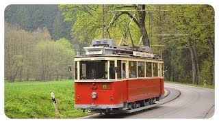 preview picture of video 'Die Kirnitzschtalbahn 2/2 - Straßenbahnen im Kirnitzschtal - historic tram'