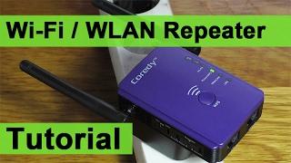 WLAN Repeater einrichten - Netzwerk verstärken (Tutorial) - Самые ...