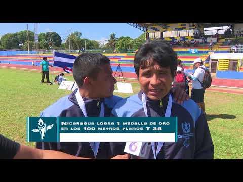 JORNADA DE ATLETISMO EN JUEGOS PARACENTROAMERICANOS MANAGUA 2018