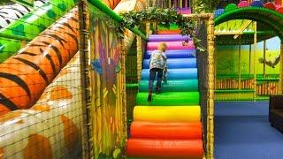 Playground Fun at Leo's Lekland Indoor Play Center