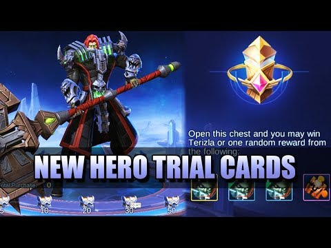 BUY TRIAL CARDS OF NEW HEROES IN GOODS SHOP