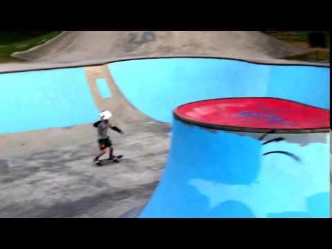 Kaleb Deep Drop Side of the Bowl - Hammond Dreamland Skatepark