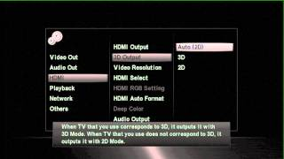 ONKYO AV Home Cinema - BD-SP809 THX 3D Blu ray Player walkthrough
