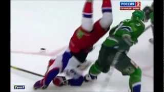 Салават Юлаев-Локомотив. Хит Зубарева. 02.11.12