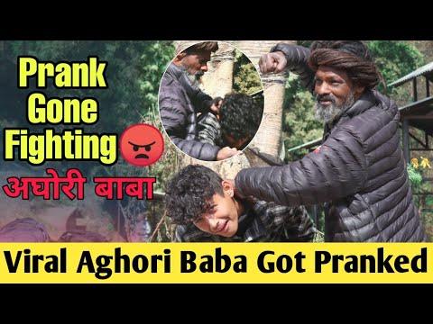 Nepali Prank- Fake Journalist Prank On Aghori Baba(Gone Fighting)😱|Life Damage Prank|Samir Bhattarai