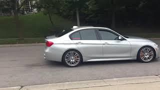 BMW F30 335i -MPE Exhaust w/CTSTurbo Downpipe cold start