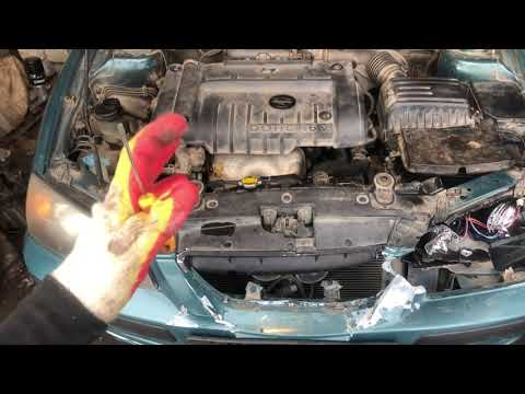 Где находится номер двигателя на автомобиле Hyundai Elantra