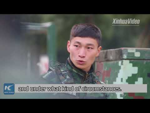 Make each day count in 2018: China's special forces soldier Gao Zhenwei