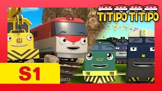 Titipo S1 full episodes Compilation l EP 7-13 (77 mins) l Train shows for kids l Titipo TItipo