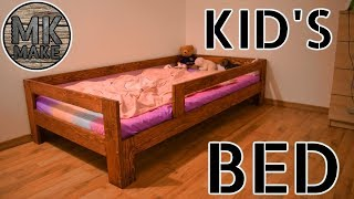 I Made A New Bed For My Daughter | DIY Kids Bed