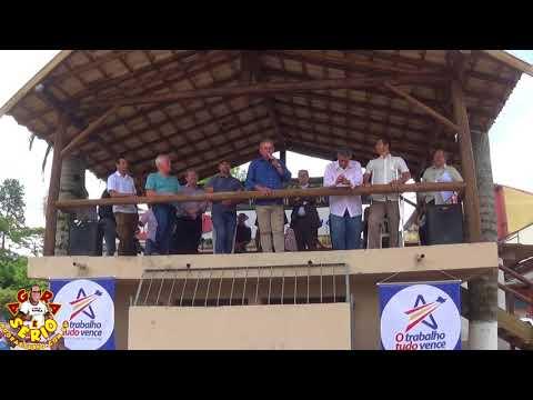 Juquitiba 53 Anos Inauguração da Praça de Eventos de Juquitiba com a Palavra Prefeito Ayres Scorsatto