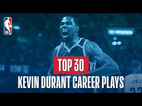 kevin durant s top 30 plays of his nba career