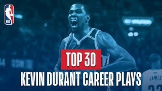 Kevin Durant's Top 30 Plays of His NBA Career