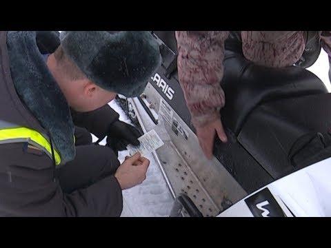 В Губкинском проходит профилактическая операция «Снегоход»