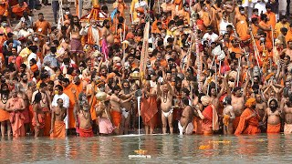 video: Watch: Thousands gather for Hindu festival in India despite spike in coronavirus cases