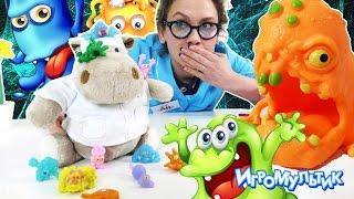 Нашествие микробов на АЙ КЛИНИКУ! ДОКТОР АЙ в опасности!