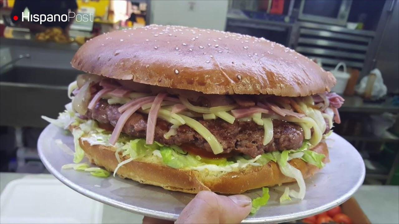Las hamburguesas más grandes del mundo están en Madrid