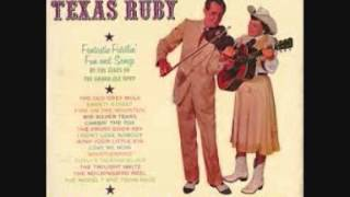 Curly Fox & Texas Ruby - We Live In Two Different Worlds (1945).