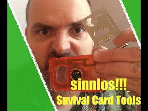Survival Card Tools sind sinnlos!?