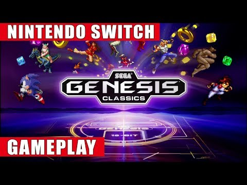 Sega Genesis Classics Nintendo Switch Gameplay
