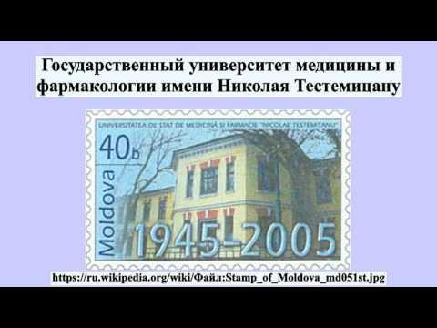 Государственный университет медицины и фармакологии имени Николая Тестемицану