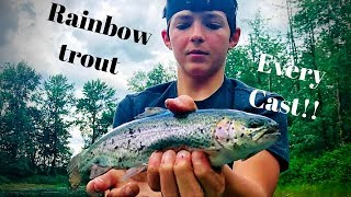 Fishing Pond For Rainbow Trout