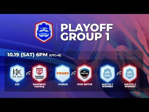 2019 CRL 亞洲賽區 S2 - 季後賽第1天