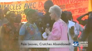 Woman's Legs Healed in Matadi