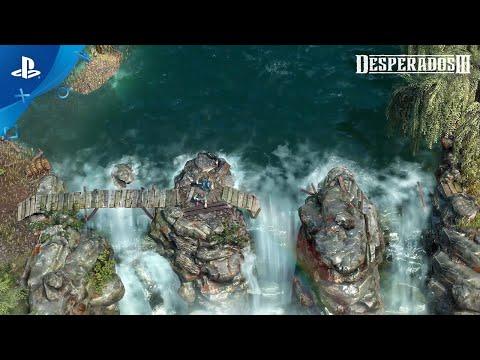 Desperados Iii John Cooper Trailer Ps4 Trailer 2020