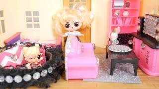 LOL Surprise New Oops Baby Family Playset With Barbie Furniture Goldie