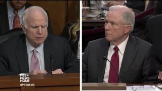 McCain to Sessions:
