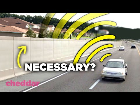 How Highway Noise Barriers Can Actually Amplify Sound