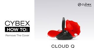 Gambar cover CYBEX HOW TO: Remove the cover of the CYBEX CLOUD Q