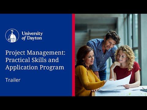 Program Trailer | UDayton Project Management Program