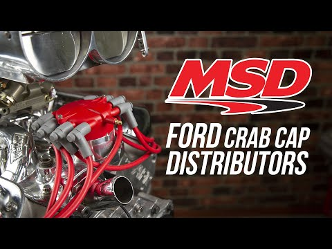 MSD Ford Crab Cap Distributors