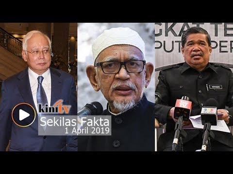 LHDN kejar Najib, Muhyiddin bidas Hadi, Mat Sabu umum bonus