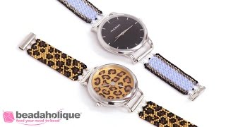 How To Bead Weave A Peyote Watch Band