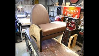 DIY Plywood ART Deco Style Seat - Forme Industrious