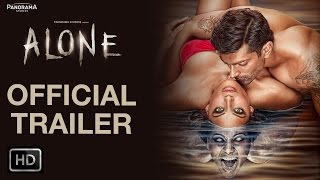 Alone Official Theatrical Trailer  Bipasha Basu Karan Singh Grover